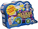 Puremco Mexican Train Double 12 Professional Size Dominoes with Bonus Chickenfoot Game Included