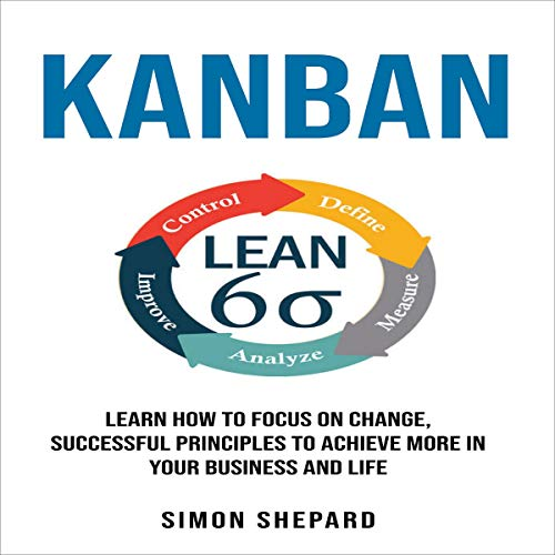 『Kanban: Learn How to Focus on Change, Successful Principles to Achieve More in Your Business and Life』のカバーアート