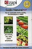 ZAPI Sodio Natural Plus per Il Controllo delle MUFFE TICCHIOLATURA OIDIO Confezione da 500 Grammi