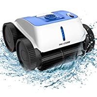 Paxcess Cordless Robotic Pool Cleaner with Smart Route Plan, Automatic Pool Vacuum, Max Surface Cleaning & Powerful Suction
