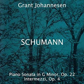 Robert Schumann: Piano Sonata in G Minor, Op. 22 - Intermezzi, Op. 4