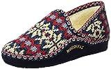 Nordikas Classic, Zapatillas de Estar por casa Mujer, Azul (Marino), 38 EU