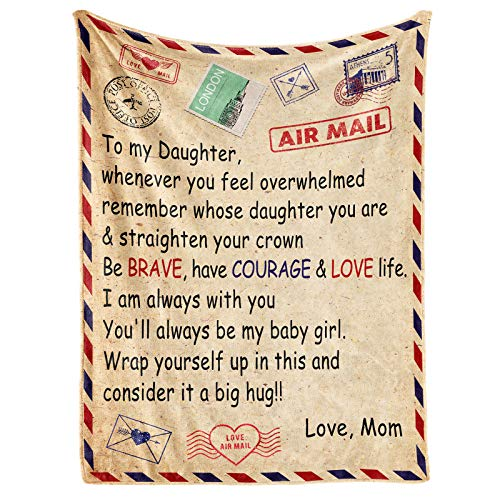 A Letter Blanket Personalized