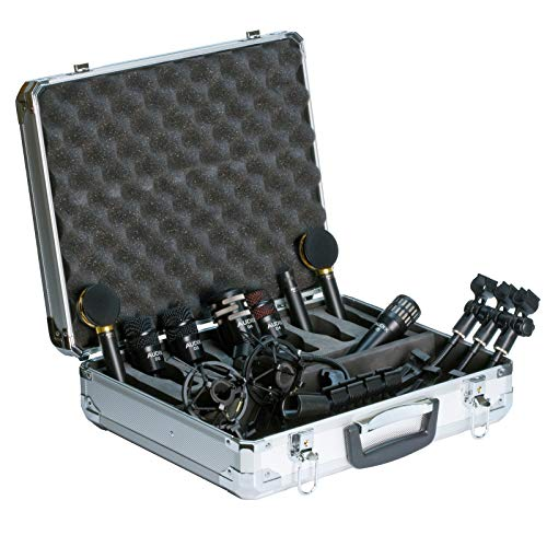Audix Elite Studio 8-Set di microfoni per batteria, 7 pezzi