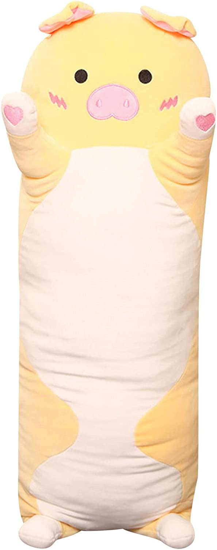 Oauxy Pig Plush Hugging Pillow Stuffe Piggy Soft Super Finally popular brand Sleeping Selling