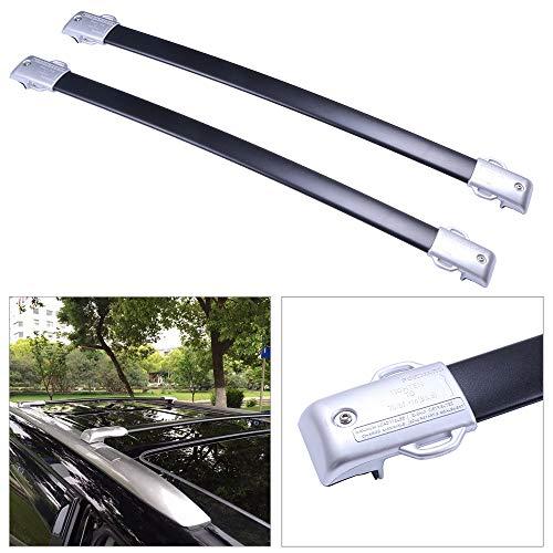cciyu Universal Aluminum Roof Rack Cross Bar Car Top Luggage Carrier Rails Fit for 2010-2020 Lexus GX460 Sport Utility 4-Door 4.6L
