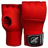 Hayabusa Quick Gel Boxing Hand Wrap Gloves - Red, Large