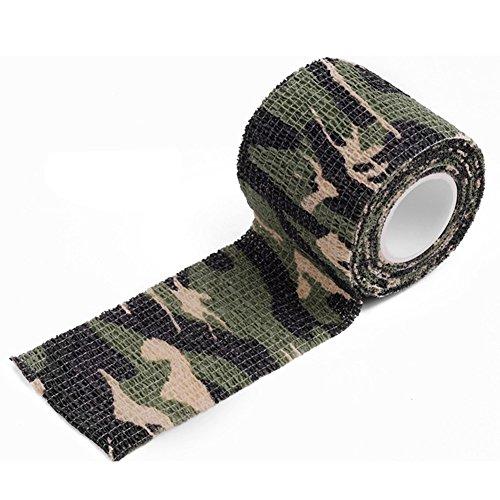 Blackr Camouflage-Klebeband, wasserdicht, dehnbar, elastisch, Typ 1