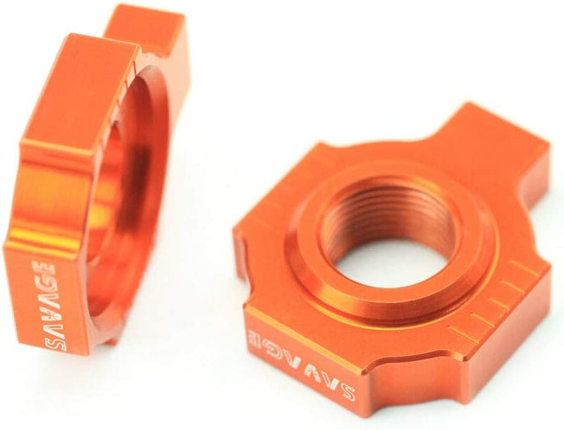 Axle Block Chain Adjuster For KTM EXC SX MXC 125 200 250 300 380 ...