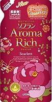 香りとデオドラントのソフラン アロマリッチ スカーレット つめかえ用 480ml