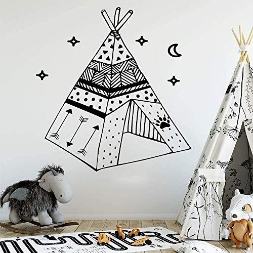 Wandaufkleber, Wandtattoos, Klassisches Zelt Wandbild Abnehmbares Wandtattoo Für Kinderzimmer Home Party Decor Wallpaper 43X45Cm