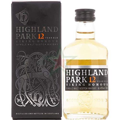 Highland Park 12 Years Old VIKING HONOUR Single Malt Scotch Whisky 40,00% 0,05 Liter