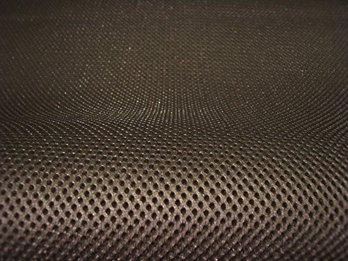 Lasagroom AIr Mesh Meterware 4mm Oliven Braun (Rohe Umbra), Breite 1,60m