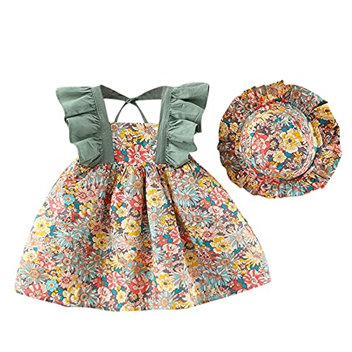 Keepwin Vestido De Princesa para Niña Playeros En Ofertas Vestido Niña Verano Vestido Bebe Niña Vestidos Bautizo Bebe Niña Ropa De Bebe Recien Nacido Ceremonia Vestidos De Fiesta Niña Boda