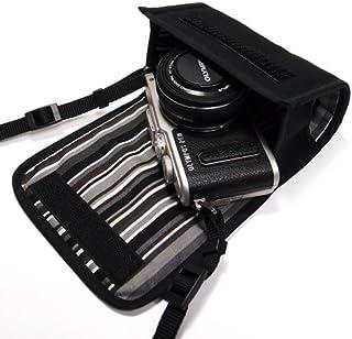 suono(スオーノ)オリンパスペンLite E-PL10ケース E-PL9ケース E-PL8ケース(ブラック・アルバグレイ)-14-42mm EZ レンズキット用 -ハンドメイド