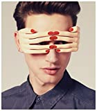 Fighting to Achieve Novelty Fingers Shaped Glasses Fancy Ball Eye mask