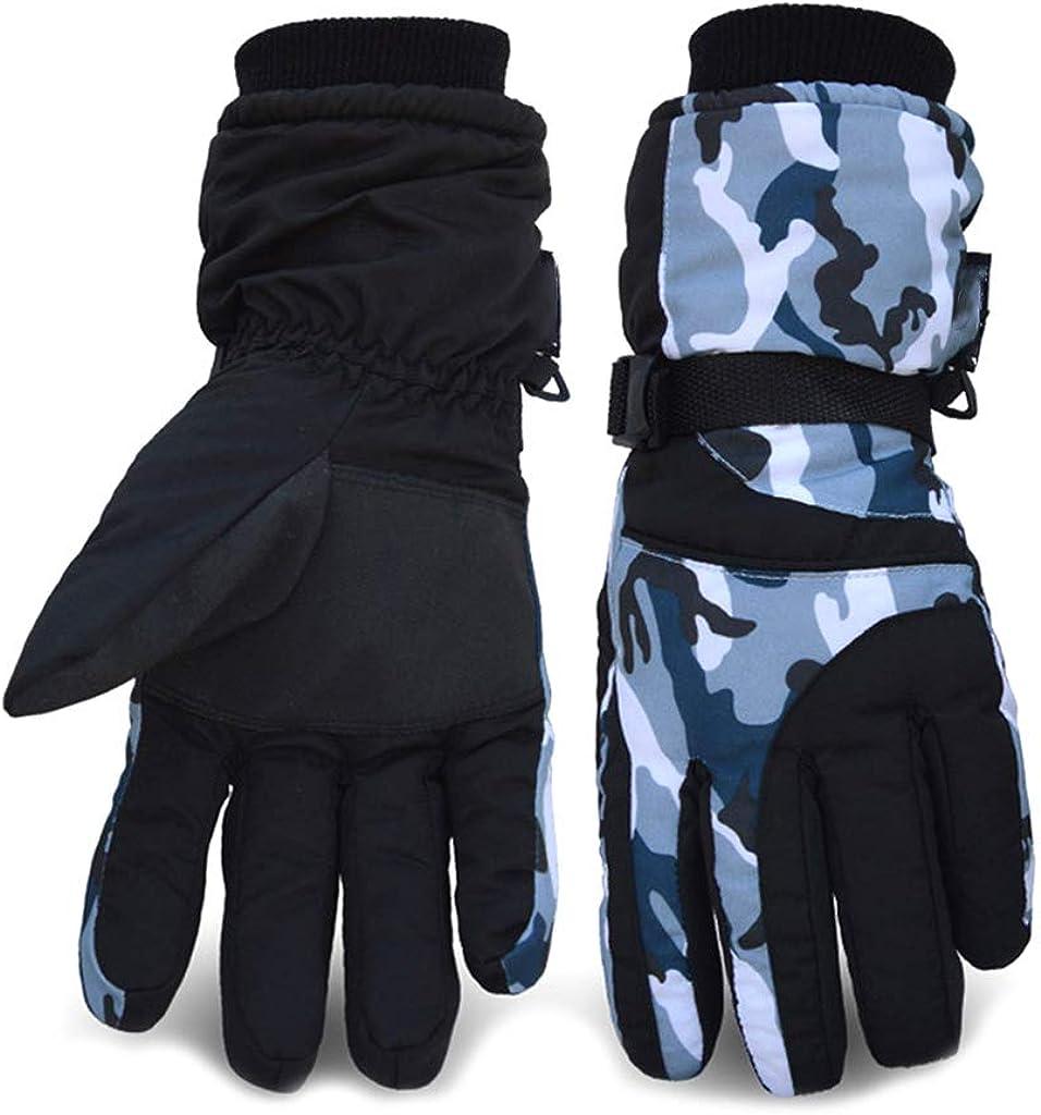 Max Time sale 67% OFF Dsxnklnd Unisex Winter Camo Stripes Gloves T Snow Ski Waterproof