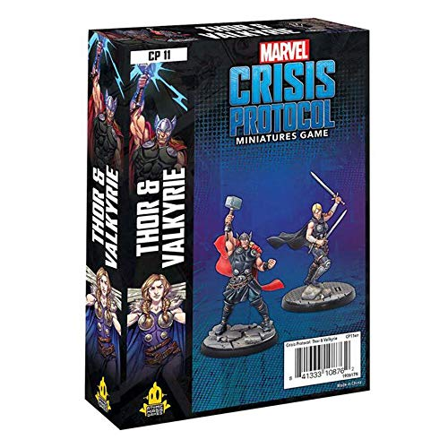 Atomic Mass Marvel Crisis Protocol: Thor and Valkyrie