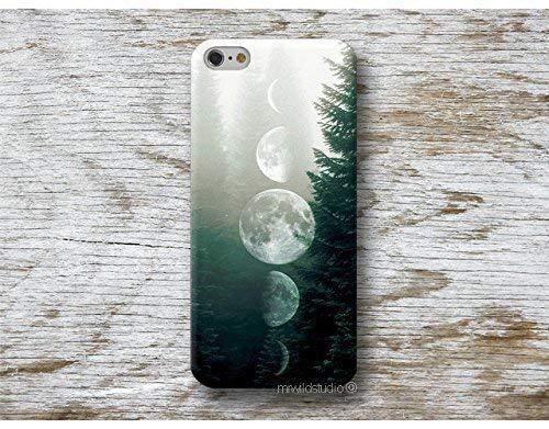 Mond Mondphase Hülle Handyhülle für Huawei P40 P30 P20 P10 P9 P8 Lite Mate 30 20 10 9 Pro Lite Y7 2019 Y6 Y5 2018 P Smart 2019 Z Case Cover