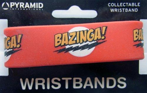 Big Bang Theory Bracelet en Caoutchouc avec Logo Bazinga
