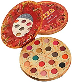 PIZZA Palette 18 Color Shimmer Matte Eyes Makeup Pigmented Powder