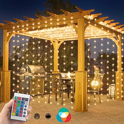 cortina luces navidad de la marca SWYJO