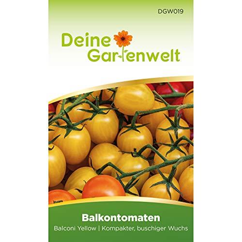 Balkontomaten Balconi yellow Samen - Solanum lycopersicum - Balkontomatensamen - Gemüsesamen - Saatgut