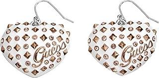 Guess Women's Heart-Shaped Drop Earrings [UBE11215]