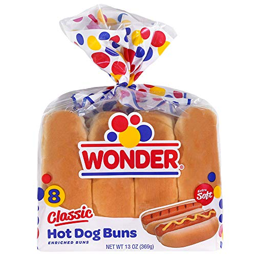 Wonder Bread Classic Hot Dog Buns - 13 oz Package