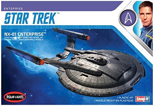 AMT POL966M/12 1/1000 - Modellino Star Trek NX-01 Enterprise