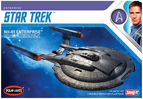AMT POL966M/12 1/1000 Star Trek NX-01 Enterprise - Maqueta