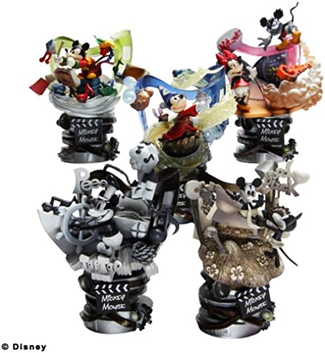 Disney Characters Formation Arts Mickey Mouse 6 pieces