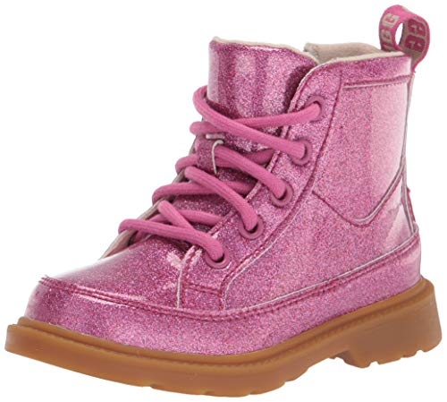 UGG T Robley Glitter Boot, Berry Rose Glitter, Size 7