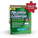Good Sense Nicotine Polacrilex Lozenge 2mg, Mint Flavor, 72-count,...