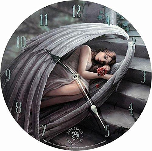 Wanduhr Sweet Sarrow Anne Stokes Gothic Engel Angel Figur Uhr