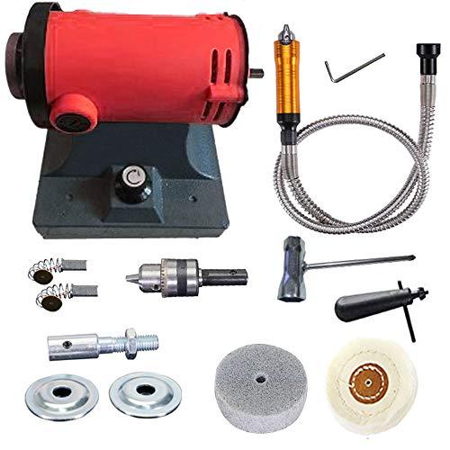 1200 W Poliermaschine für Werkbank, Poliermaschine für Schmuck, Poliermaschine, elektrisch, Schleifmaschine, Welle für Rotationswerkzeug