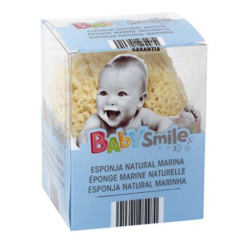 BABYSMILE esponja natural bebe bolsa 1 unidad