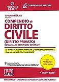 Compendio di diritto civile (Diritto privato). Con analisi dei singoli contratti...