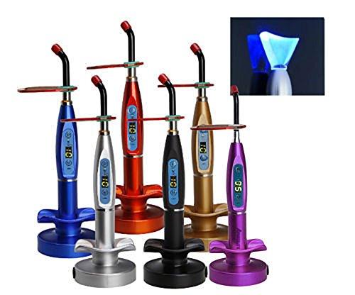 APHRODITE 1500mw Wireless Cordless LED Light Lamp Chargable Whitening Tip Lab Equipment (purple)