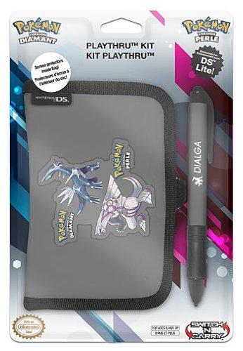 Pokemon Diamond & Pearl Playthru plus Stylus Kit (DS Lite) [Importación inglesa]