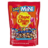 Chupa Chups Mini Lollipops, 240 Bulk Candy Suckers for Kids, Cremosa Ice Cream, 7 Assorted Creamy Flavors, Variety Pack for Gifting, Parties, Office, 240 Count from Perfetti Van Melle