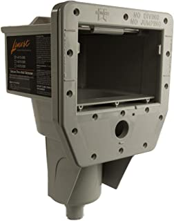 Lomart 1-4115-006/1-4215-006/1-4315-006 Thru-Wall Skimmer - Grey with Return Fitting