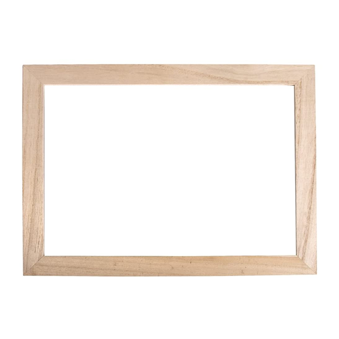 RAYHER HOBBY Wooden Frame with Double Acrylic Glass, Wood, Brown, 30 x 21 x 1 cm