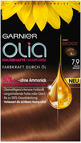 Garnier Olia 7.9 Light Bronze – Permanente Haarfarbe