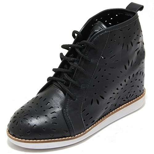 Jeffrey Campbell 3291I Sneakers Zeppe Donna Nere Aversa Scarpe Shoes Women [39]