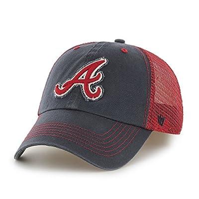 MLB Atlanta Braves Taylor Closer Mesh Stretch Fit Hat