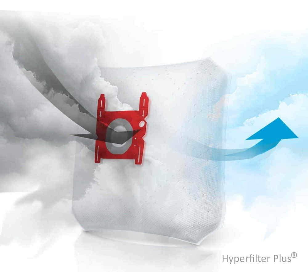 10 Bolsas + 2 microfiltros recortables para Aspirador Hoover H60 para Modelos: Silent Energy, Pure Power, Freemotión, Sensory, Freespace: Amazon.es: Hogar