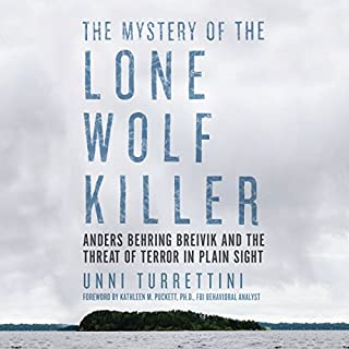 The Mystery of the Lone Wolf Killer audiobook cover art