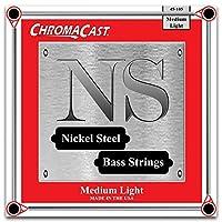 ChromaCast CC-BS-NS-ML Nickel Plated Bass Guitar Strings Custom Medium Light 1 Pack [並行輸入品]