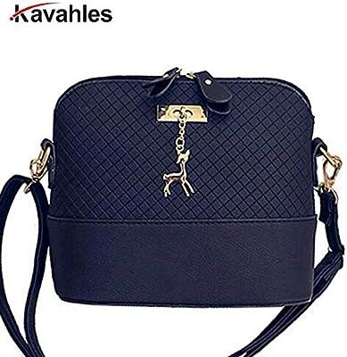 HOT 2018 Women Messenger Bags Fashion Mini Bag with Deer Shell Shape Shoulder F40-778